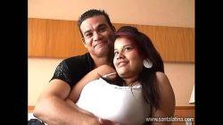 Colombianos en una prueba porno casero