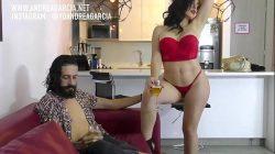 Haciendo películas actriz porno con Andrea Garcia y Cristian Cipriani